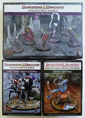 D&d Miniature Dungeons & Dragons Collector's Series Classic Lot 3 New Unopened