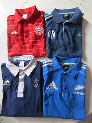 Lot De 4 Polos Adidas Homme Taille S Tbe