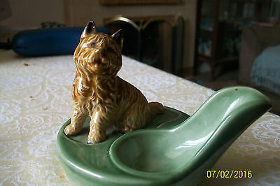Wade Pipe Stand With Terrier Dog