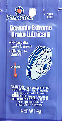 PERMATEX 09973 Ceramic Extreme Brake Lubricant Effective to 3000F