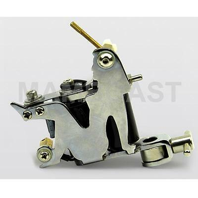 Professional Tattoo Machine with Black Coils - Iron Made Woman Design