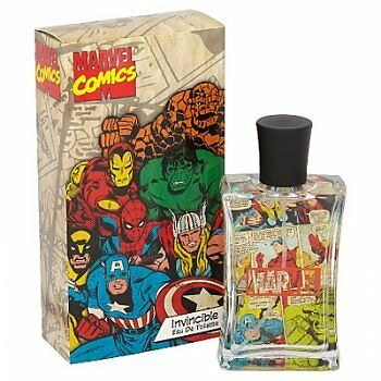 Marvel Comics 75ml EDT Spray - BRAND NEW AND BOXED - FREE DELIVERY