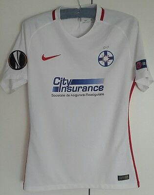 Steaua Bucuresti Match Worn Shirt Pintilii Europa League
