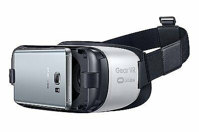 Samsung Original Gear VR Virtual Reality Brille by Oculus Weiss S6 S7 edge Note