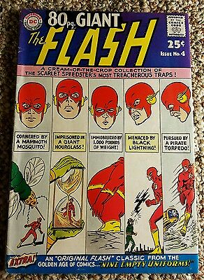 80 Page Giant Flash 4 VG/FN to FN- 5.0 to 5.5