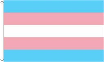Transgender Flag 5Ft X 3Ft High Quality Flags Rainbow Pride Lgbt Trans Gender