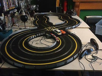 Genuine Scalextric Hot Pursuit Complete Perfect Xmas Gift Retro Toy Ready To Go