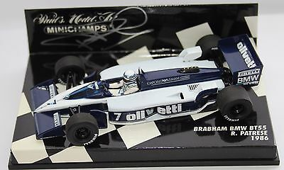 Riccardo Patrese Brabham BT55 1:43rd Scale Model SIGNED