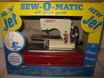 Sew-O-Matic Sewing Machine toy