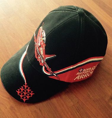 RAF Red Arrows Royal Air Force Military Embroidered Baseball Cap
