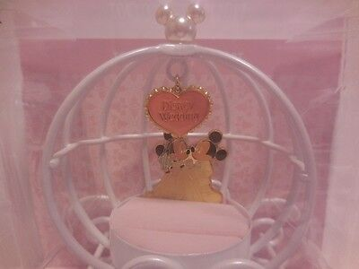 Tokyo Disney Resort limited Mickey Mouse and Minnie Mouse wedding ring pillow