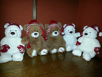 Lot De 5 Peluches Gund