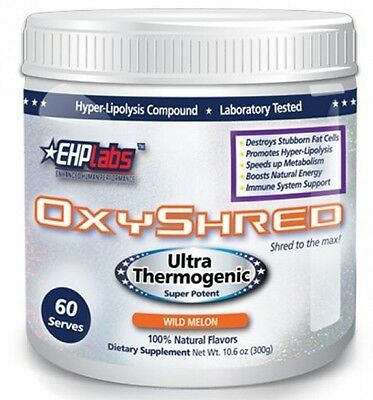 EHPLabs Oxyshred Thermogenic Fat Burning Oxyshred Weight Loss FREE EXPRESS POSTS