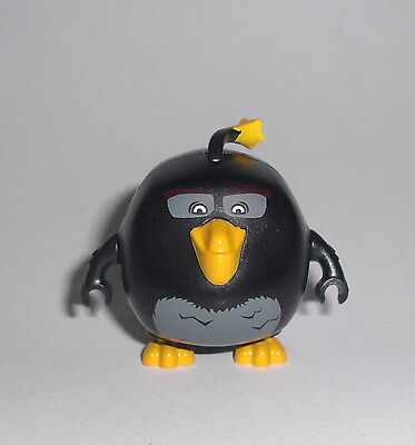 LEGO Angry Birds - Bomb - Figur Minifig Vogel Bird Bombe Stella Red Chuck 75825
