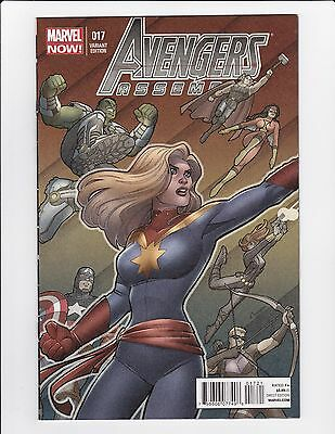 Avengers Assemble #17 Amanda Conners 1:30 Variant Nm- Captain Marvel