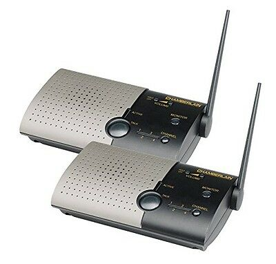 Chamberlain NLS2 Wireless Portable Intercom-Double Unit
