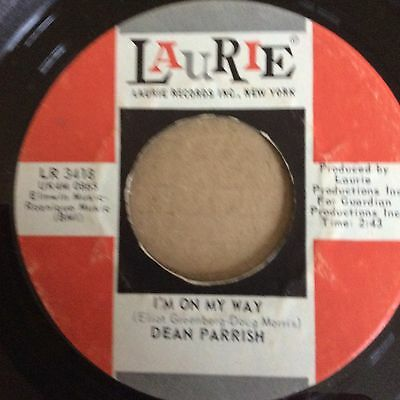 Dean Parrish - I'm On My Way (USA Laurie)