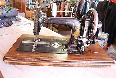 Haid & Neu Hand Crank Sewing Machine, Vintage German sewing machine