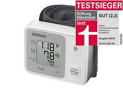 OMRON RS 2 Test winner Wrist blood pressure monitor & v. med. Specialist dealer