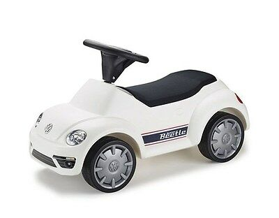 Brand New Genuine Volkswagen White Beetle Ride on for Children - 5DA087510