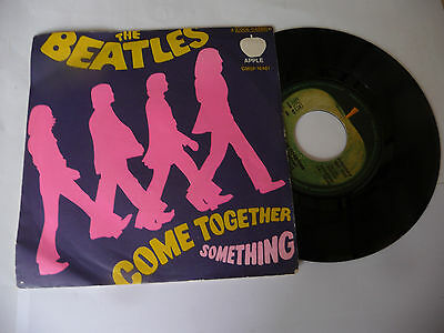 "THE BEATLES"" COME TOGETHER- disco 45 giri APPLE Italy 1968"" (13)"
