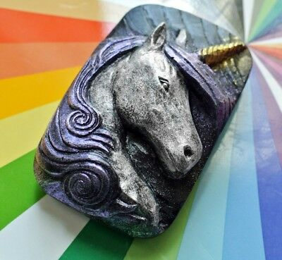 Unicorn - Beautiful Soap Bar -  Silicone Mould - Mold Plaster Candle Clay Wax