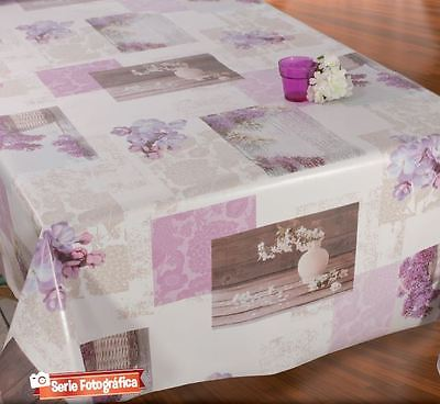 Mantel Hule Pvc Lacado Fotografico. Lacquered Tablecloth Pvc Photographic