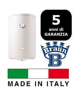 Boiler Electric 80 Litres Braun Lt 80 With Flange Porcelain-Glass 5 Years