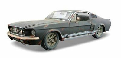 Maisto 1:24 Old Friends 1967 Ford Mustang GT Diecast Model Racing Car Vehicle