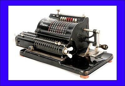Antique Hamann Manus B Calculator in Working Order. Germany, 1927