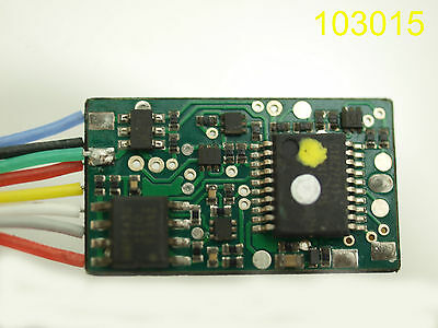 Piko 56121 Multiprotokolldecoder Classic mit Lastregelung (DC/AC) Loco Decoder