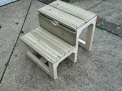 Horse mounting block step   lightweight heavy duty  hand made