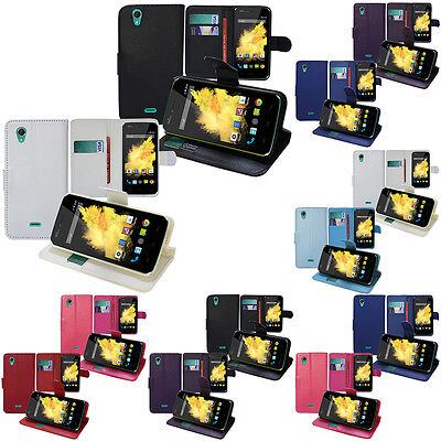 Cover Wallet Case Flip Book Integrated support for Series Wiko Models