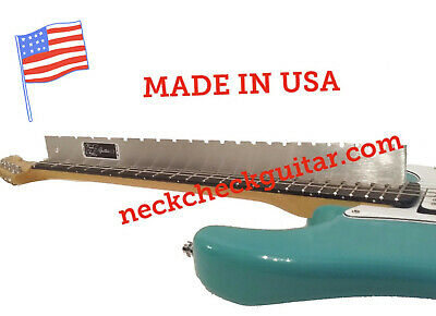 FENDER MUSTANG / JAGUAR STRAIGHT EDGE (Notched) LUTHIERS TOOL