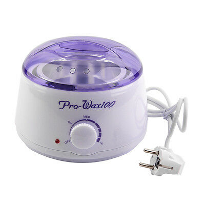 S#Beauty Melting Pot Waxing Professional Salon Heater Warmer Hair Removal Kit&W