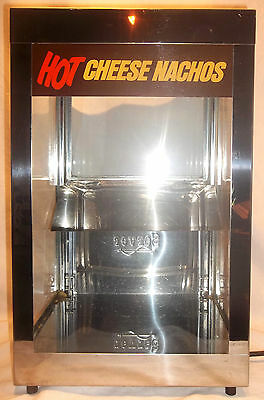 Commercial Nacho Chips Cheese Display Warmer Excellent Used Condition