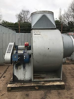 Large Centrifugal industrial duct extractor fan, blower