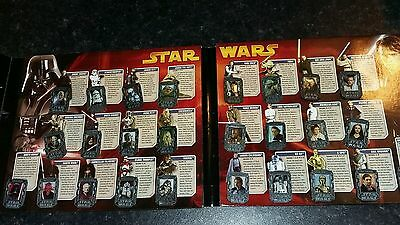 2005 star wars complete pin collection