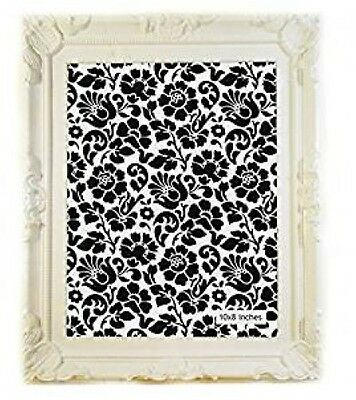 """White French Shabby Chic, Vintage style, White Photo Picture Frame Size10"""" x 8"""""""