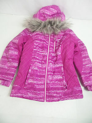 Free Country Girls Winter Coat Pink/Purple US Size M 10/12 NWT