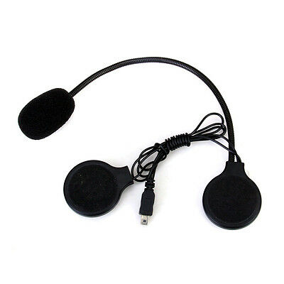 Spare Part For Bluetooth Motorbike Intercom Headset Microphone Earpiece Mini USB