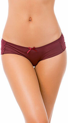Rene Rofe 155529 Printing It Up Hipster Sexy Silky Panties Lingerie Underwear
