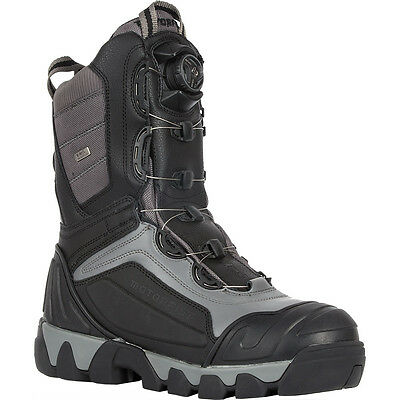 Motorfist Alpha BOA Snowmobile Boot Black