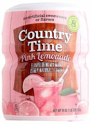 Country Time Pink Lemonade Mix [538g]