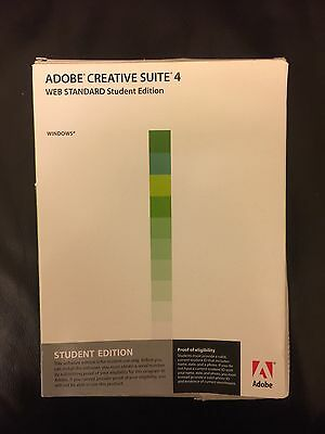 Adobe Creative Suite 4 Web Standard Student Edition for Windows