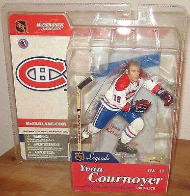 Mcfarlane NHL Legends 1 YVAN COURNOYER Montreal Canadiens WHITE Jersey Variant