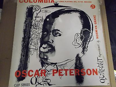 Oscar Peterson,stomping At The Savoy,10 Inch Lp,columbia,33C 9013,