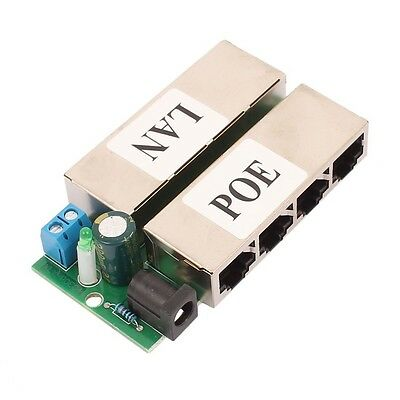 4 Ports POE Power injector 5V-48V Power Supply module for IP Camera IP phone