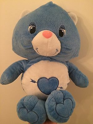 """Flo's Toys Care Bear Lookalike Plush Toy 17"""" Rare & Great Condition"""