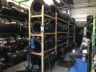 PART WORN TYRE BUSINESS FOR SALE Inc STOCK OF Over 750 TYRES, CAR-LIFT, Etc